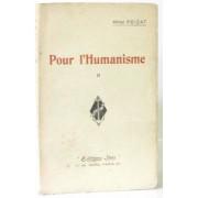 Pour L'humanisme (Tome Deuxième)