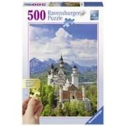 Puzzle Castelul Neuschwanstein, 500 Piese