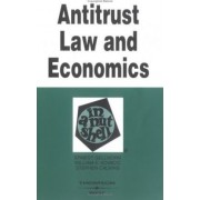 Antitrust Law and Economics in a Nutshell by Ernest Gellhorn