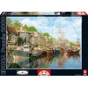 Educa Puzzle Genuine Harbour 2000 de piese 16313 colorat
