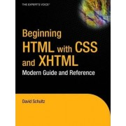 Beginning HTML with CSS and XHTML by Professor David Schultz