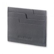 Moleskine Lineage Leather Card Wallet Blu