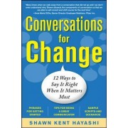 Conversations for Change by Shawn Kent Hayashi