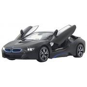 Jamara 404570 - BMW I8, Scala 1:14, Porta Telecomandata, Nera