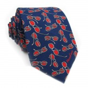 Cravatta seta occhiali MOSCHINO