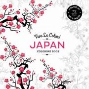 Vive le Color! Japan (Coloring Book) by Marabout