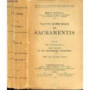 Tractatus Canonico-Moralis De Sacramentis - Vol Iii - De Matrimonio Accedit Appendix - De Iure Matrimoniali Orientalium - Edito Altera Emendata Et Aucta