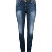 JUNAROSE Jeans Slim blue denim Damen Gr. 48