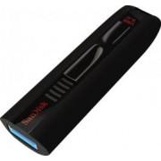 USB Flash Drive Sandisk Extreme SDCZ80 64GB USB 3.0 cu parola Negru