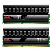 Memorie G.Skill Black PI Series 4GB (2x2GB) DDR2 PC2-6400 CL4 1.8~1.9V 800MHz Dual Channel Kit, F2-6400CL4D-4GBPI-B