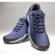 Softshell Schuh, marine, wasserabweisend, Gr. 42