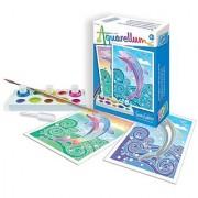 SentoSphere Mini Aquarellum Dolphins Arts and Crafts Paint Set
