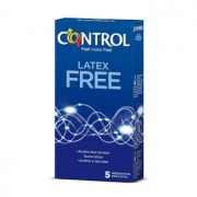 CONTROL LATEX FREE 5 Unidades