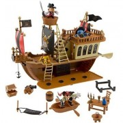 Deluxe Mickey Mouse Pirates of the Caribbean Pirate Ship Play Set