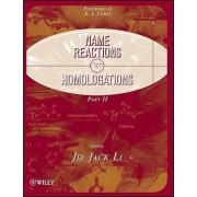 Name Reactions for Homologation by Jie Jack Li