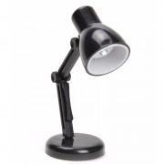 LED boekenlampje Retro zwart