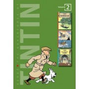 Adventures of Tintin 2 Complete Adventures in 1 Volume: WITH The Black Island AND King Ottokar's Sceptre by Herge