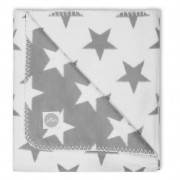 Jollein Deken Little Star 75x100 cm grey 514-511-64966