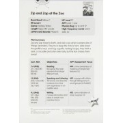 Zip and Zap at the Zoo (Yellow C) Guided Reading Card