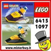 LEGO SYSTEM RES-Q Jet Ski codice 6415 / 1097