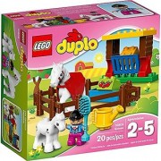 LEGO Duplo Horses Building Toy Set 20 Pieces - 10806
