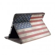 Mesh - iPad Air Hoes - Cover Amerikaanse Vlag