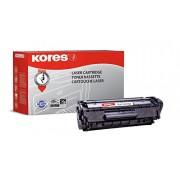 Kores G1114RB 2000páginas Negro tóner y cartucho láser - Tóner para impresoras láser (Negro, HP, Laserjet 1010, 1012, Q2612A, Caja)