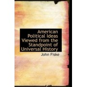 American Political Ideas Viewed from the Standpoint of Universal History by John Fiske