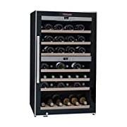 La Sommeliere ECS70.2Z 2-Zone 66-Bottle Wine Cooler with Digital Display