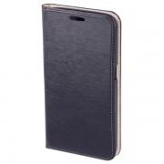 Husa Flip Cover pentru Samsung Galaxy S6, HAMA Slim Booklet, Navy