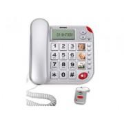 Telefono Salvavita Telesalvalavita Telesoccorso Teleallarme con Telecomando SOS Emergenza Anziani Telesalvavita Super Bravo Plus