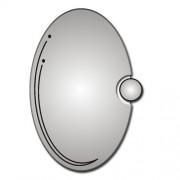 Zrcadlo ZT-D0342 90x60cm ovál