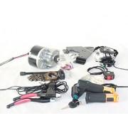 24 V 250 W KIT de BI250W cepillo eléctrico MOTOR PARA BICICLETA ELECTRICA acelerador con interruptor de llave y tensión de batería SIMPLE kit de motor para el bricolaje E-BIKECICLETA ELÉCTRICA KIT DE CONVERSIÓN E-BIKE SCOOTER ELÉCTRICO BICICLETA GNG MOTOR
