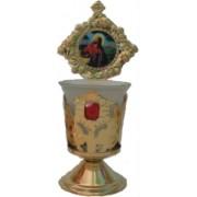 Candelă de masă model floare