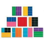 ETA Hand2Mind Deluxe Rainbow Fraction Squares