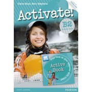 Activate! B2 Students' Book with Access Code and Active Book Pack by Elaine Boyd