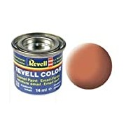 Revell 14ml Email Color Enamel Paint (Luminous Orange Mat Finish)