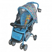 Polly's Pet Baby Stroller Giraffe Printed 1051 Blue