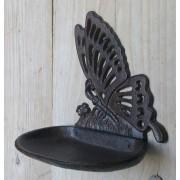 vogelvoerbakje vlinder gietijzer tuindecoratie