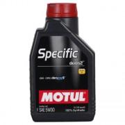 Motul Specific dexos2 5W-30 1 Litres Boîte