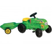 Farm traktor utánfutóval