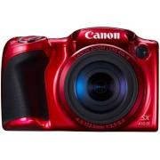 Aparat Foto Digital Canon PowerShot SX410 IS, 20MP, Zoom optic 40x, Filmare HD (Rosu)