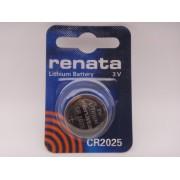 Renata CR2025 baterie litiu 3V blister 1