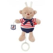 """Fehn 078411 - Mini carillon """"Teddy"""", vestito alla marinara"""
