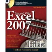 Excel 2007 Bible by John Walkenbach