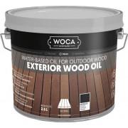 Woca Exterior Oil ANTRACIET voor Terras,Meubel,Blokhut enz.