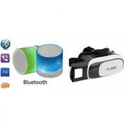 ZEMINI Music Mini Bluetooth Speaker(S10 Speaker) And VR Box for SAMSUNG GALAXY WIN PRO