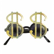 Dollar brillen goud