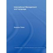 International Management and Language by Susanne Tietze
