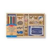 Melissa & Doug 13798 Animal Stamp Set